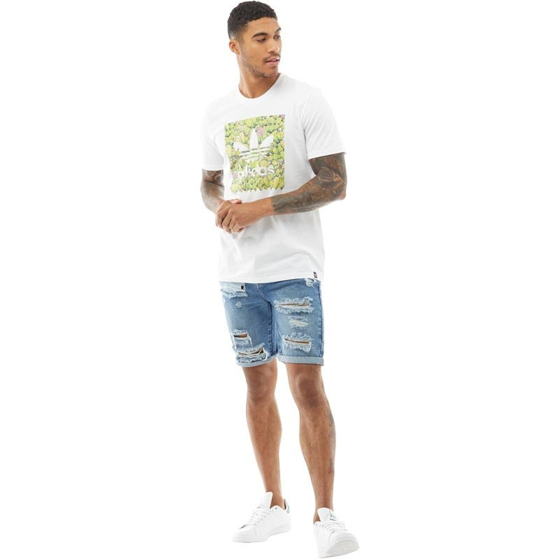 adidas Originals férfi Skateboarding BB Cactus póló - PoloCafe Világ ... 26afdc5cd8