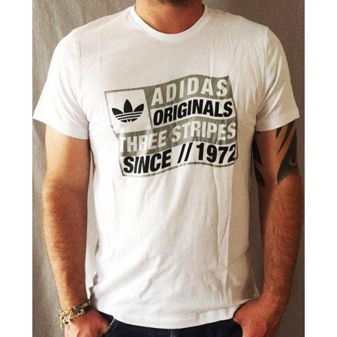 adidas Originals férfi Stripes póló
