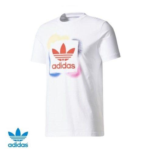 adidas Originals férfi Rectangle póló
