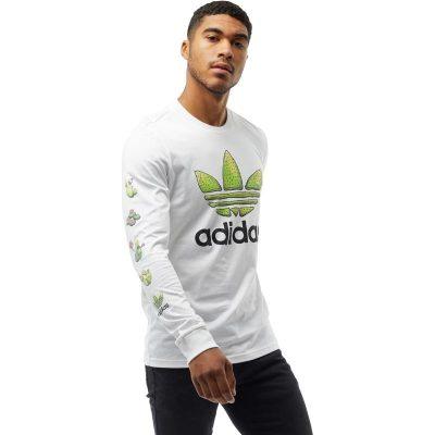 adidas Originals férfi Cactus Long hosszú póló - PoloCafe Világ ... 300a38ccb0