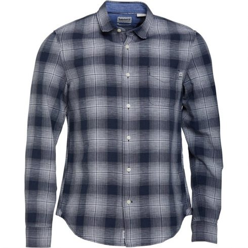 Timberland Férfi Mill River Slim Fit Checked Ing